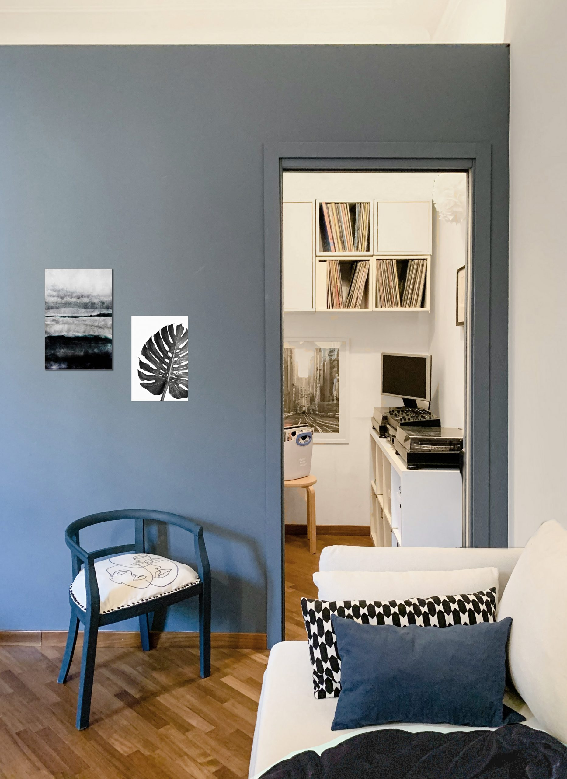 Home Tour - Simona Ortolan Nordic home in Milan