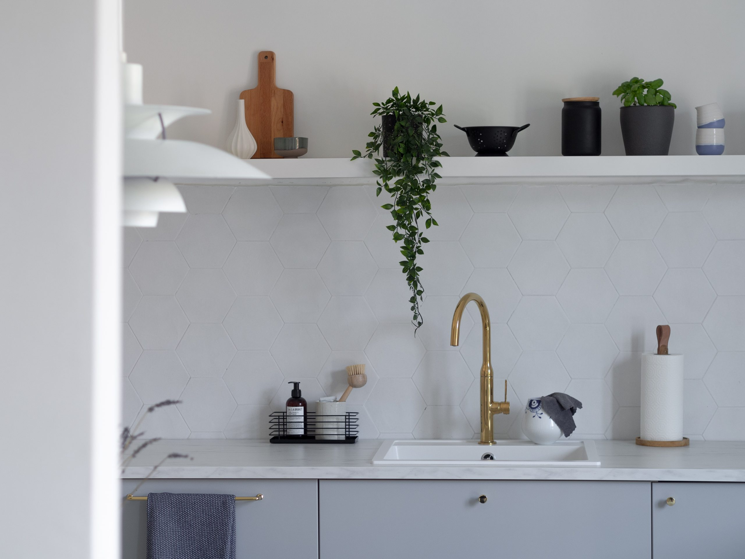 Scandinavian vibes in the home of Ingrid Opstad