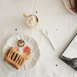 Mismatched table setting